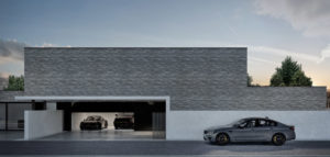 Dom Brick & Black projektu biura Monochrom Architects