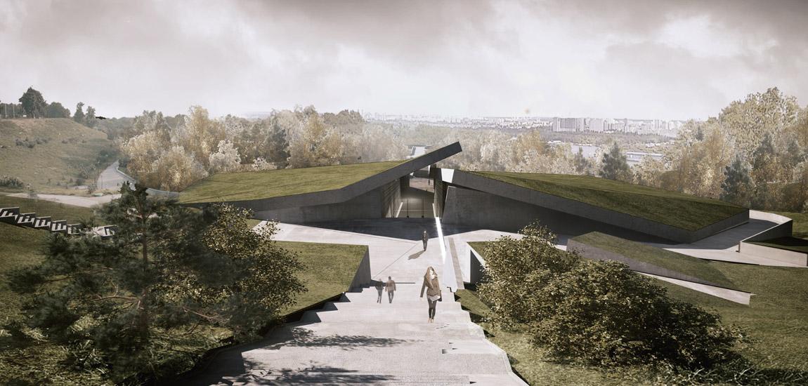 """""""Memoriał Ofiar Wielkiego Głodu"""" - Mirosław Nizio projektuje największy kompleks muzealny na Ukrainie"""