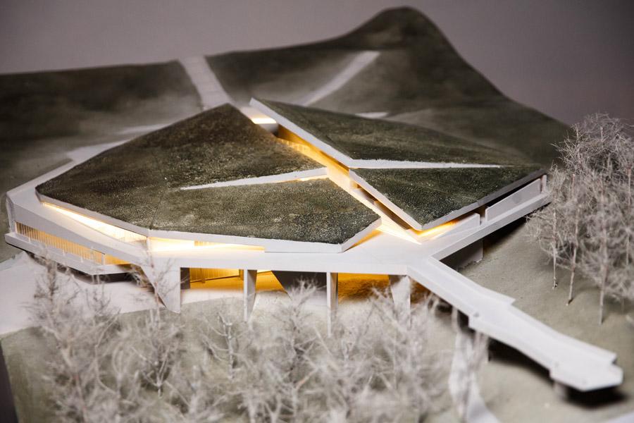 """Zdjęcie makiety Muzeum Narodowego """"Memoriał Ofiar Wielkiego Głodu""""@ Nizio Design International / Dima Taranenko, Philip Dotsenko"""