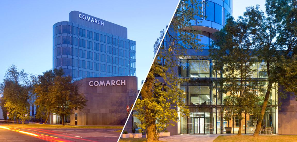 Siedziba Comarch w Łodzi. Projekt: NOW Biuro Architektoniczne. Zdjęcie: Piotr Krajewski
