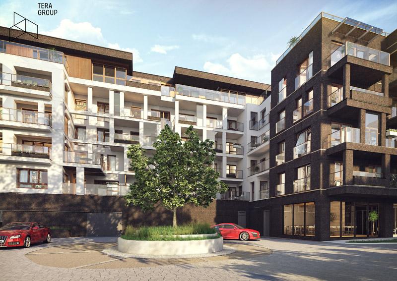 """Budynek biurowo-mieszkalny """"Ventus Apollo Business&Living"""", Kielce. Projekt: Pracownia Architektoniczna Tera Group"""