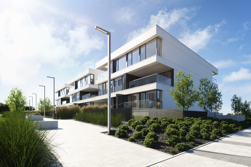 Apartamenty Wuwart, Wrocław. Projekt:Q2Studio