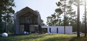 Dom w Zalesiu pracowni Z3Z Architekci