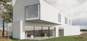Dom skręcony w Poznaniu pracowni Banach Architekci