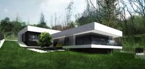 Dom nad rzeką pod Szczecinem projektu DISM Architekci
