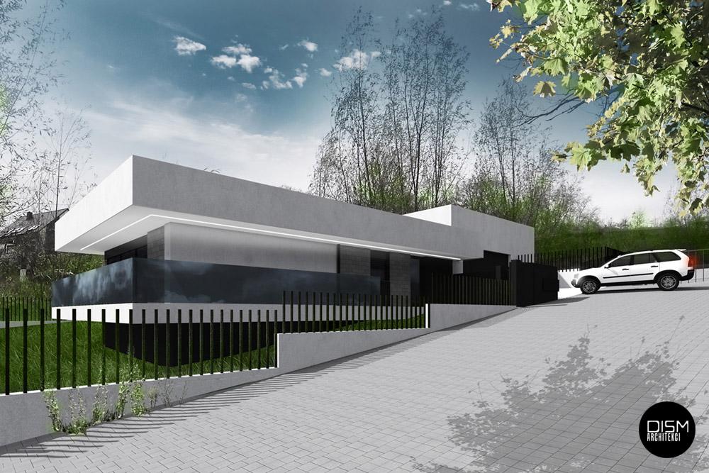 Dom nad rzeką pod Szczecinem. Projekt: DISM Architekci