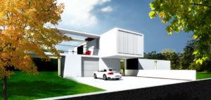 Dom w Szczecinie projektu pracowni DISM Architekci