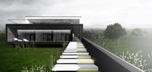 Dom nad wodą w okolicach Szczecina projektu DISM Architekci
