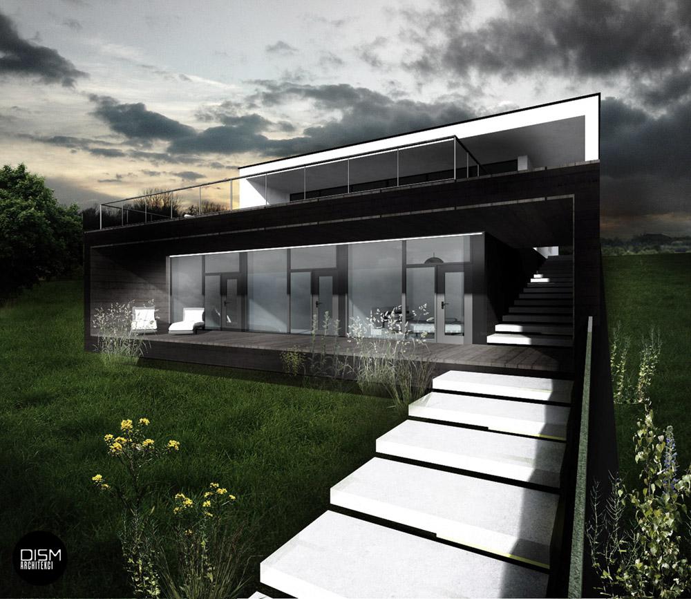 Dom nad wodą, Szczecin. Projekt: DISM Architekci