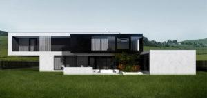 Dom prosty projektu pracowni DISM Architekci