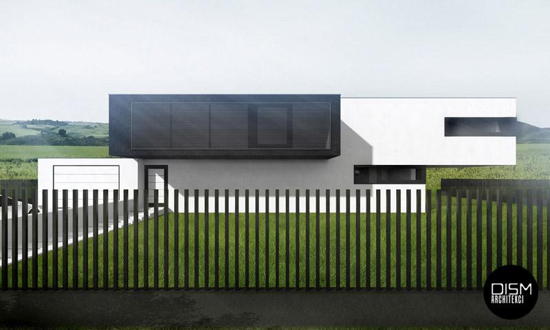 Dom prosty. Projekt: DISM Architekci, Szczecin