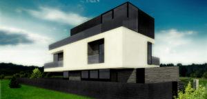 Dom 3 Poziomy projektu DISM Architekci
