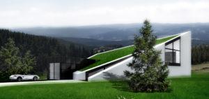Projekt nowoczesnego domu w górach pracowni DISM Architekci