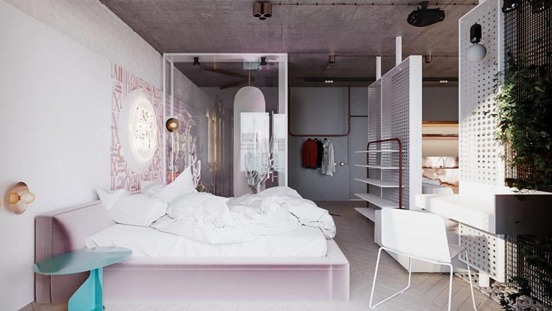Mieszkanie w Warszawie. Projekt wnętrz: Hi-Light Architects