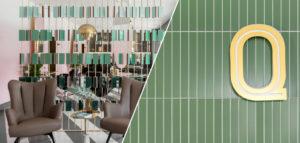 Salon piękności w stylu luksusowej kawiarni – wnętrza QUIRIS House pracowni JT Grupa