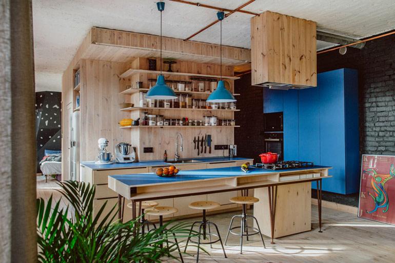 Mieszkanie na Nikiszowcu, Katowice. Projekt wnętrz: Mili Młodzi Ludzie. Zdjęcia: Janina Tyńska