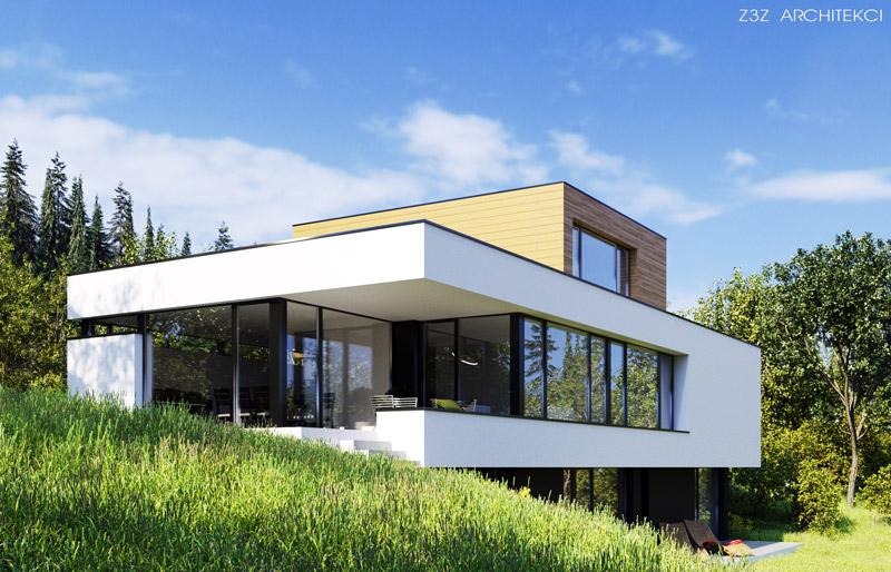 Dom w Namiestowie na Słowacji. Projekt: Z3Z ARCHITEKCI | Mateusz Zajkowski