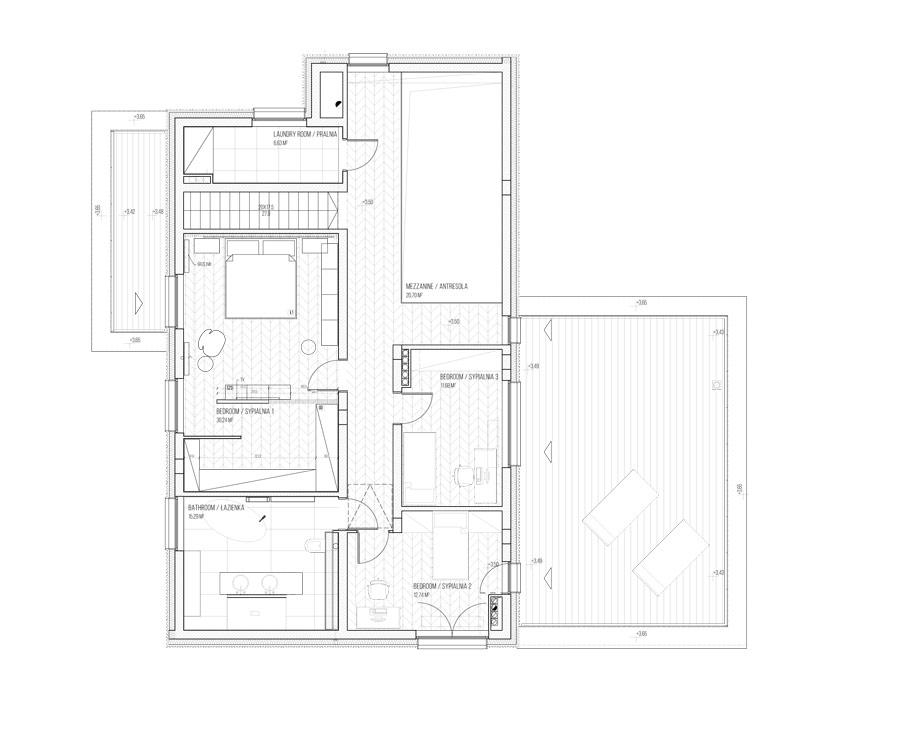 Dom w otulinie parku krajobrazwego. Projekt: ZONA Architekci