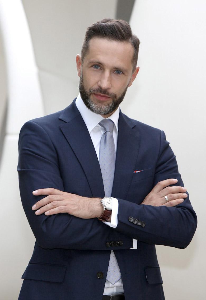 Radosław Zacheja - prezes zarządu firmy Bright Lights