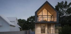 Dom nad Jeziorem projektu biura 3XB Architekci