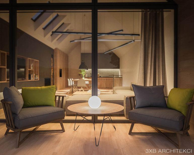 Dom nad Jeziorem. Projekt: 3XB Architekci Filip Banach