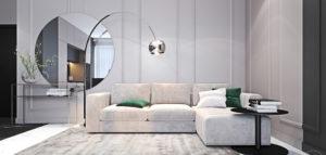 Nowoczesne wnętrza nawiązujące do klasyki. Mieszkanie projektu studia Ambience. Interior Design