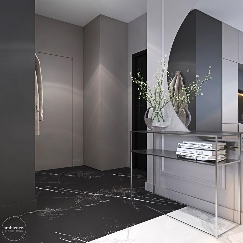 Mieszkanie w Warszawie. Projekt wnętrz: Ambience. Interior Design