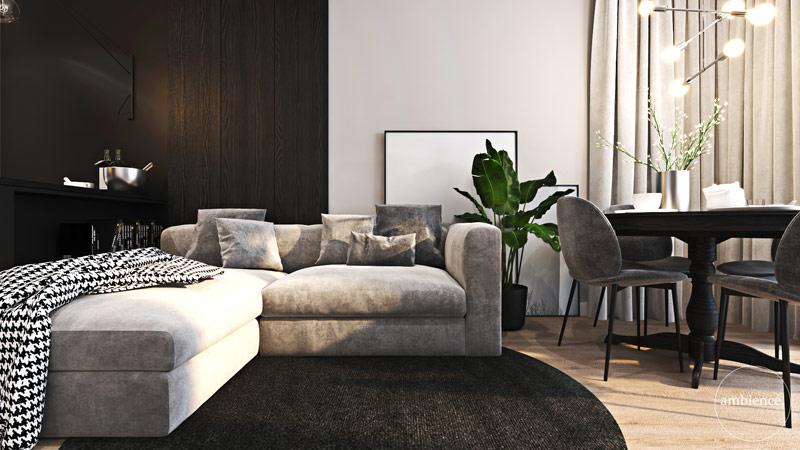 Mieszkanie we Wrocławiu. Projekt wnętrz: Ambience. Interior Design