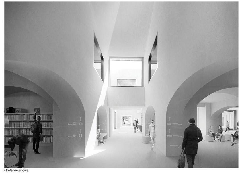 """Centrum Literatury i Języka """"Planeta Lem"""" w Krakowie. I Nagroda w konkursie: JEMS Architekci"""