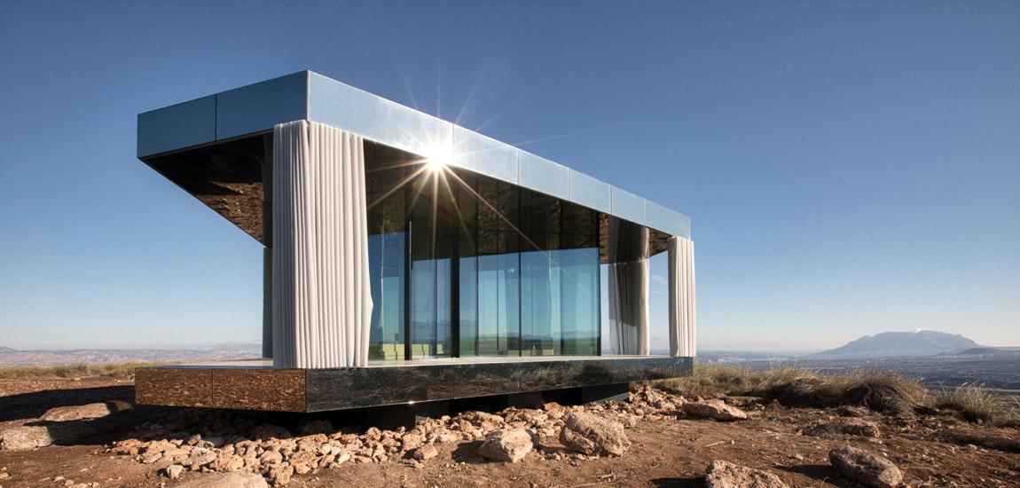 """""""La Casa del Desierto"""" – projekt Guardian® Glass, perfekcyjne wnętrza wdoskonałej harmonii z naturą"""