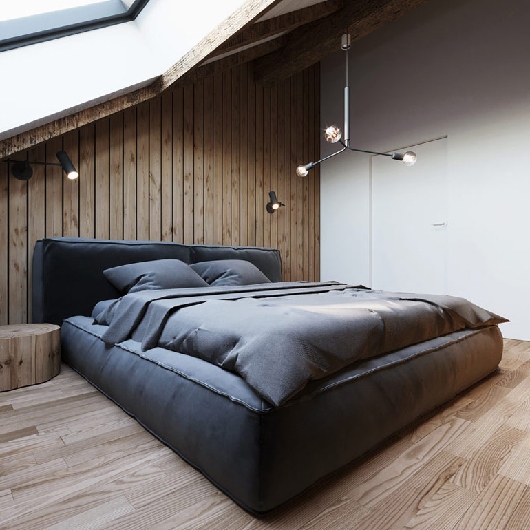 Wnętrza domu w górach, Winterberg, Niemcy. Projekt: 081 Architekci