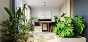 Wnętrza domu w Milanowie pracowni 081 Architekci