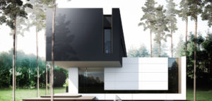 Prosta, wyrazista forma domu pracowni ANTA Architekci