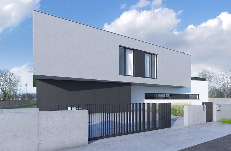 Dom na Umultowie w Poznaniu. Pracownia: Conde Konrad Idaszewski Architekt