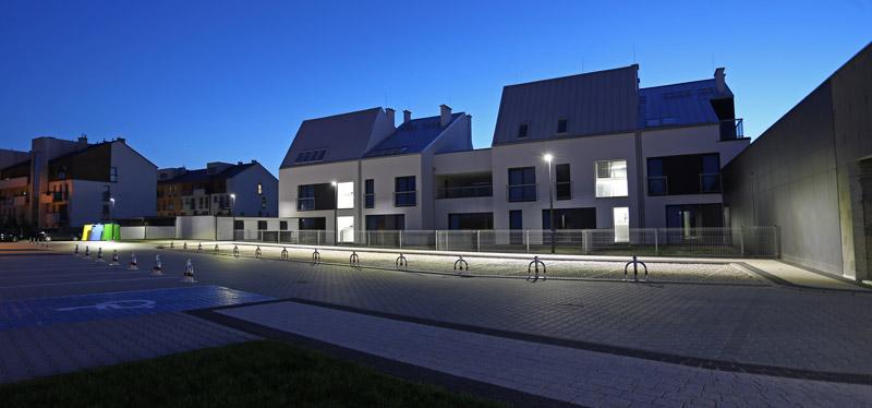 Osiedle Panorama Park II, Kościelna Wieś. Projekt: Decone / Conde / ENDE. Zdjęcie: Maciej Garbowicz