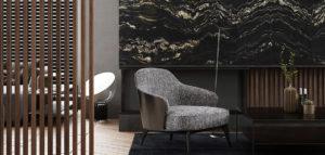 Czysta forma, naturalne materiały i subtelny detal. Wnętrza apartamentu projektu Exit Design
