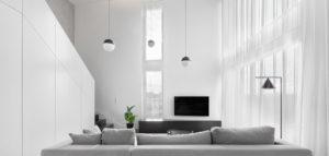 Wnętrza mieszkania projektu pracowni Ktura Architekci