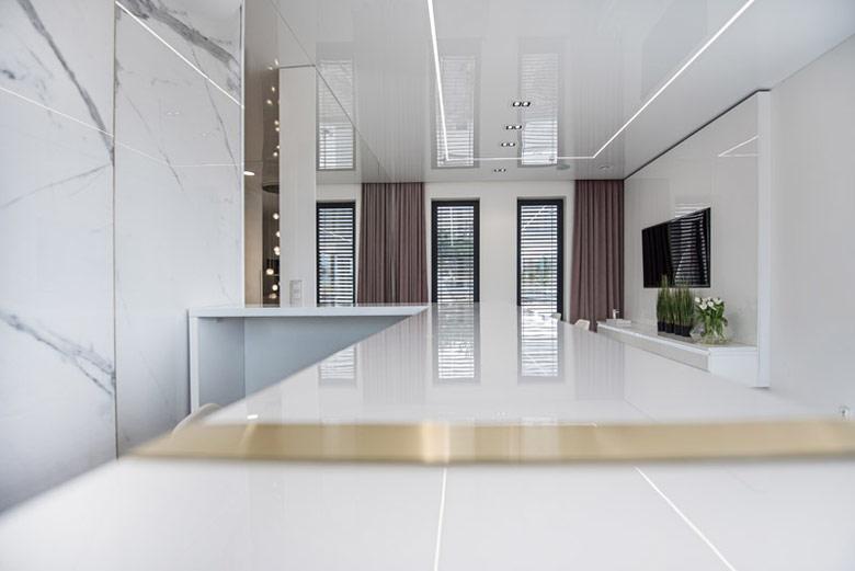 Gabinety kosmetologii Instytut Piękna. Projekt wnętrz: LOFFT Architektura Małgorzata Hendrych-Lubińska
