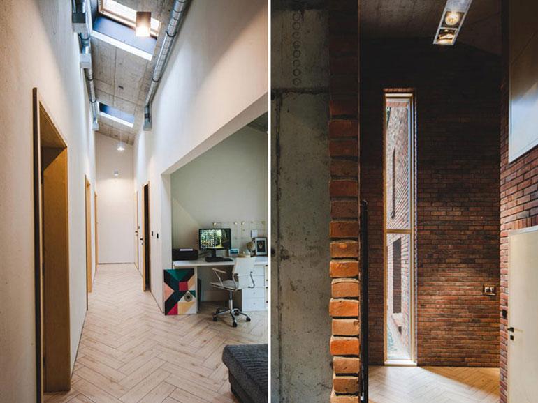 Dom Naked House w Warszawie. Projekt: Pracownia Architektoniczna MAZM. Zdjęcia: Ignacy Matuszewski