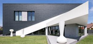 Odważna forma Domu Trójkątnego w Szczecinie pracowni REFORM Architekt