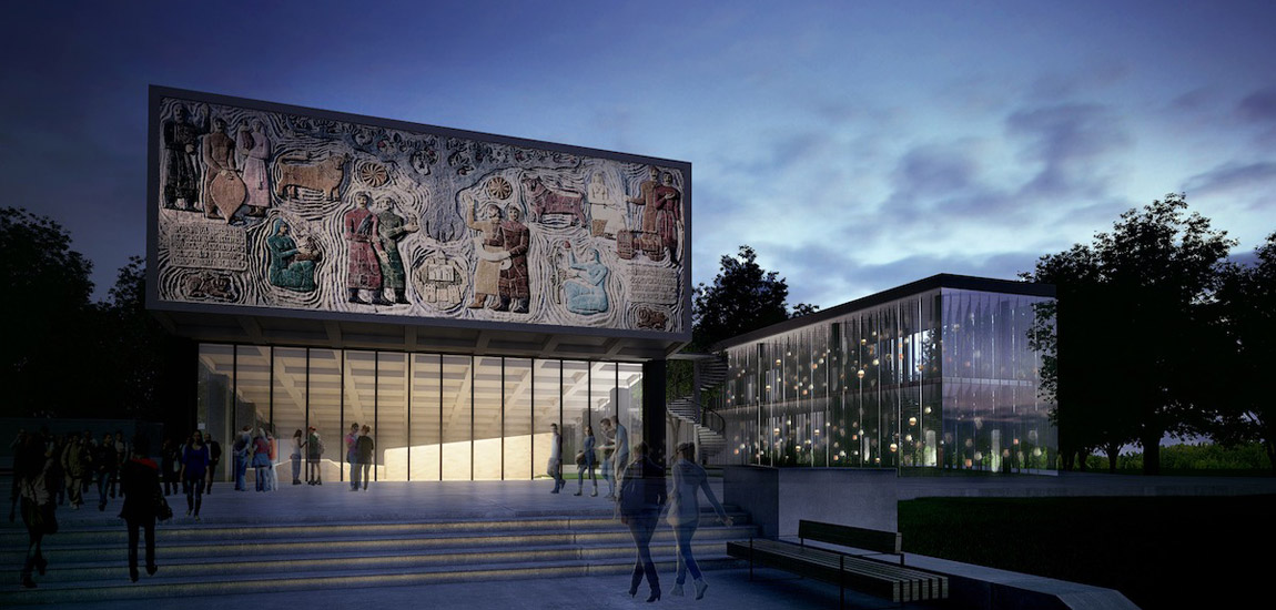 Muzeum Historyczne Mcchety w Gruzji pracowni Mirosława Nizio