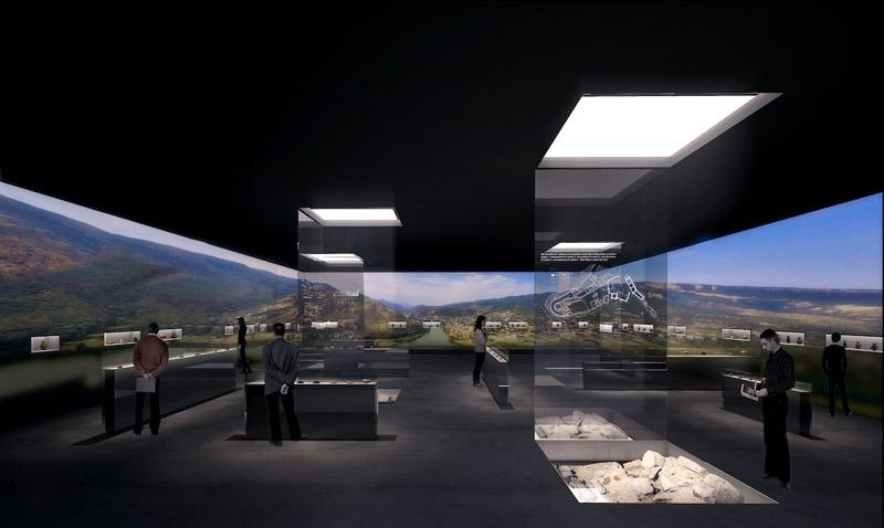 Muzeum Historyczne Mcchety w Gruzji. Projekt: Nizio Design International | Mirosław Nizio