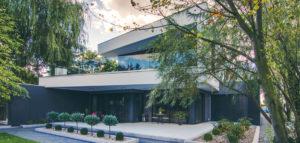 Nowoczesna willa w Grodzisku Wielkopolskim biura ANTA Architekci