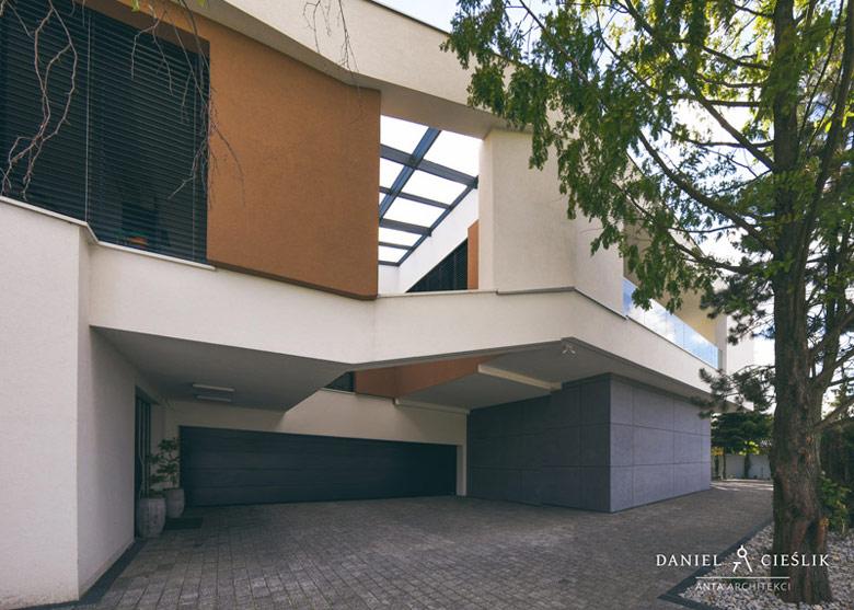 Dom jednorodzinny w Grodzisku Wielkopolskim. Projekt: ANTA Architekci Daniel Cieślik