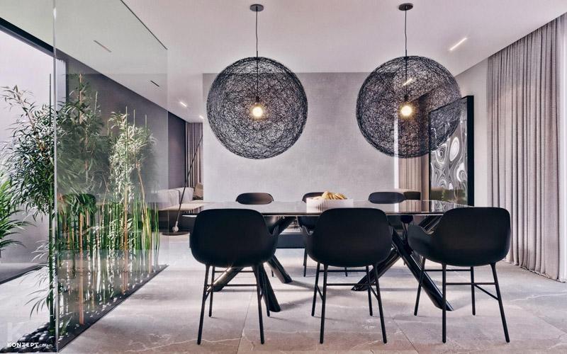 Apartament w Warszawie. Projekt wnętrz: KONZEPT Architekci