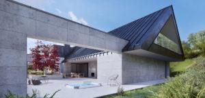 Dom w Kobylanach pod Krakowem pracowni MEEKO Architekci