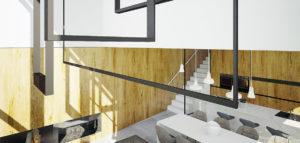 Wnętrza domu w Krakowie pracowni MUS Architects