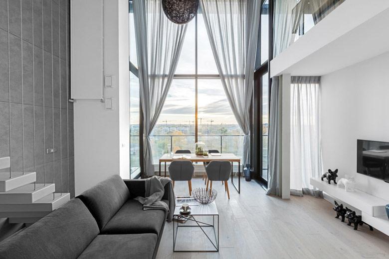Projekt wnętrz mieszkania pracowni Decoroom