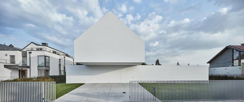 Dom Kwadrantowy. Projekt: Robert Konieczny | KWK Promes. Zdjęcie: Olo Studio