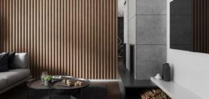 Eleganckie materiały i domowe ciepło we wnętrzach projektu Spacja Studio